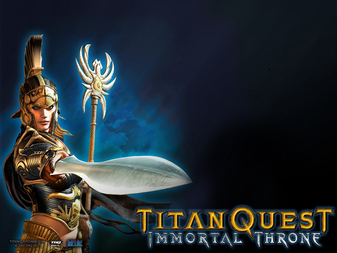 Titan Quest Immortal Throne.