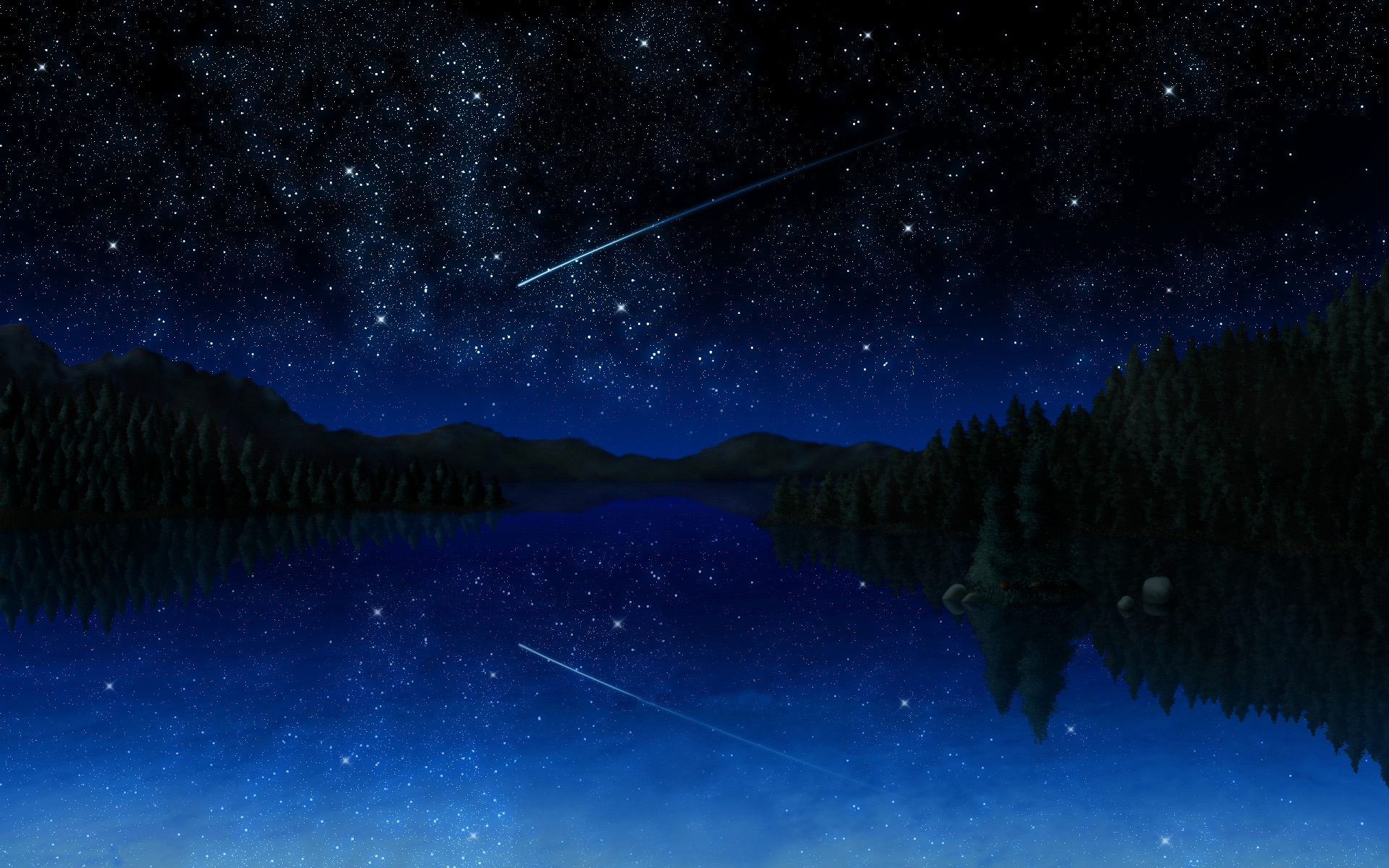 Night Sky Stars Background Psdgraphics - HD 1920×1200
