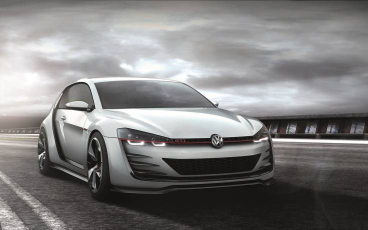 Volkswagen Design Vision GTI Concept обои, картинки, фото