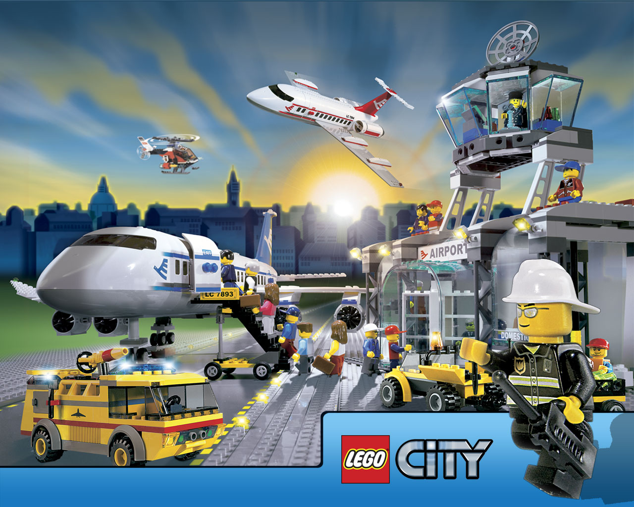Lego City Airport 7893 Instructions